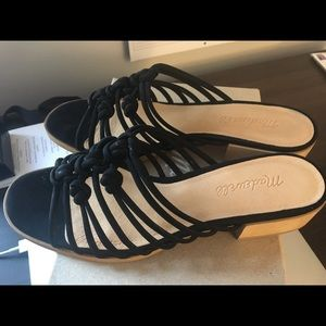 Black Madewell Sandals size 8 new with box